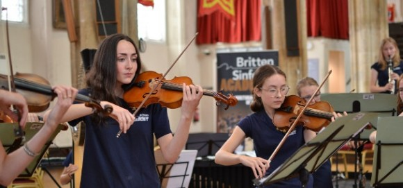 190716 Britten Sinfonia At Lunch 4 credit Milly March
